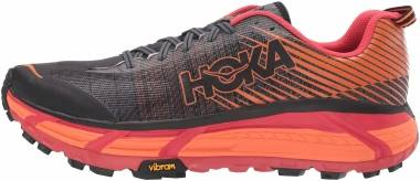 Hoka One One Evo Mafate 2 - Black Poppy Red