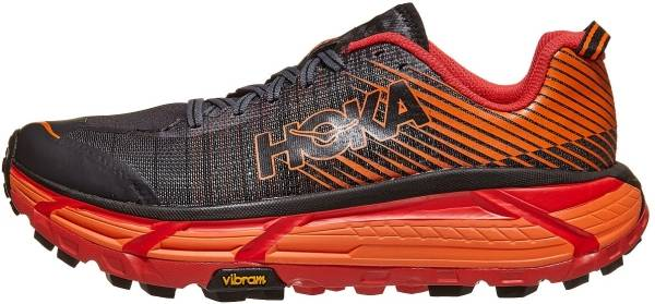 Hoka One One Evo Mafate 2 - Black / Poppy Red (BPRD)