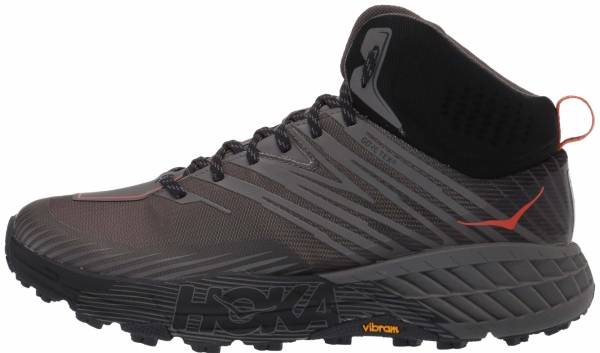 Hoka One One Speedgoat Mid 2 GTX - Anthracite Dark Gull Grey