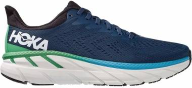 Hoka One One Clifton 7 - Black White (111)