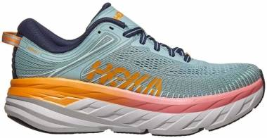 Hoka One One Bondi 7 - Black White (111)