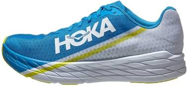 Hoka One One Rocket X - WHITE / DIVA BLUE (WDVB)