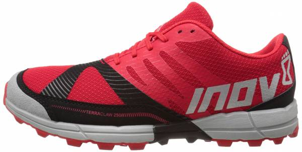 Inov-8 Terraclaw 250 - Red / Black / Grey