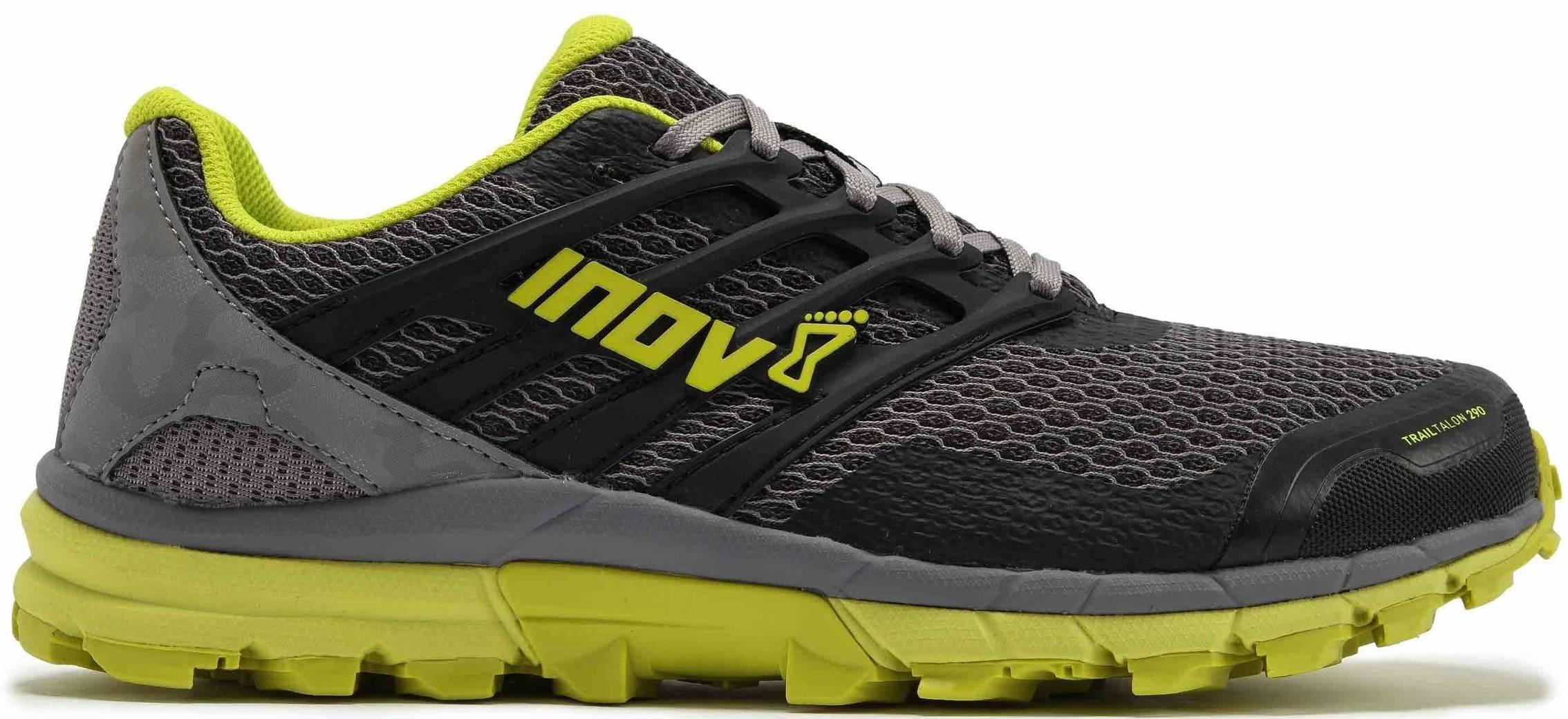 Inov-8 Mens Trailtalon 290 Black /& Blue Path /& Trail Running Trainers Shoes