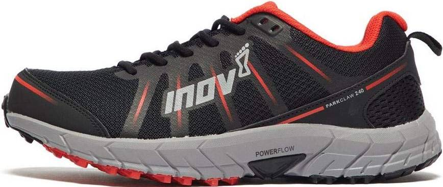 Inov8 Mens Parkclaw 240 Trail Blue//Yellow Lace Up Running Gym Shoes Trainers