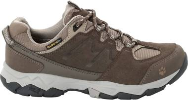 Jack Wolfskin Mtn Attack 6 Texapore Low - Coconut Brown Grey 5222 (4017605222)