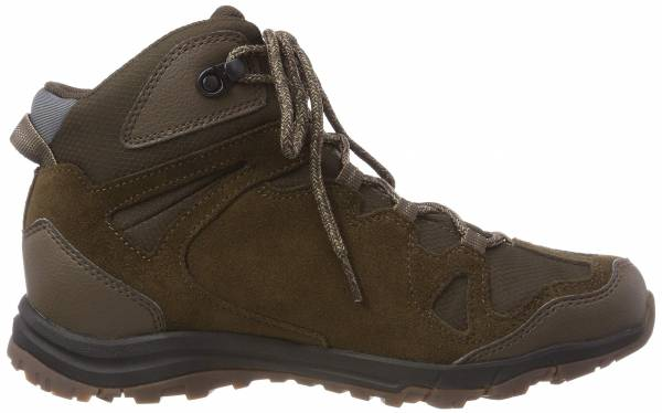 Jack Wolfskin Rocksand Texapore Mid Brown (Dark Wood 5690)