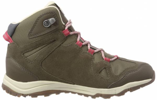 Jack Wolfskin Rocksand Texapore Mid - Brown Dark Ruby 2501
