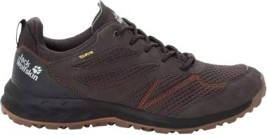 Jack Wolfskin Woodland Texapore Low - Brown Espresso Dark Red 5076 (4039215076)