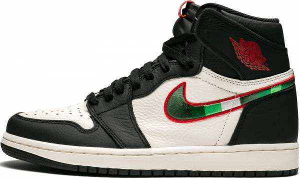 Air Jordan 1 Retro High Multicolore (Black/Varsity Red/Sail/University Blue 015)