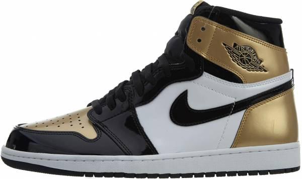 Air Jordan 1 Retro High Black.black-metallic-gold