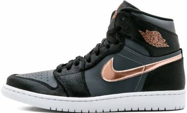 cheap for discount bfadd 32668 Air Jordan 1 Retro High gym red, metallic silver-white Men