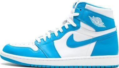 Air Jordan 1 Retro High - Blue (555088117)