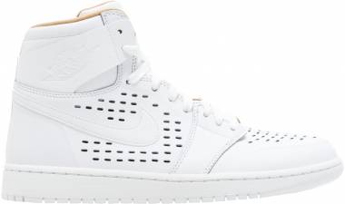 promo code b0b19 9030b Air Jordan 1 Retro High White Men