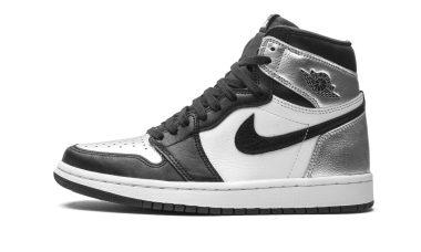 Air Jordan 1 Retro High - Black/Metallic Silver-white-bl (CD0461001)