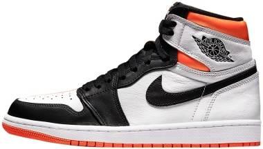 Air Jordan 1 Retro High - White/Orange/Black (555088180)