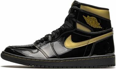 Air Jordan 1 Retro High - Black Metallic Gold (555088032)