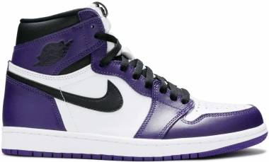 Air Jordan 1 Retro High - Court Purple/White/Black (555088500)