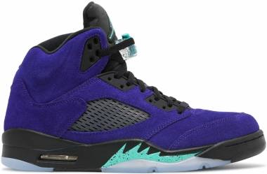 Air Jordan 5 Retro - grape ice/black/clear/new emerald (136027500)