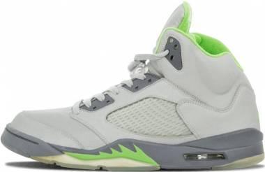 Air Jordan 5 Retro Silver, Green Bean-flint Grey Men