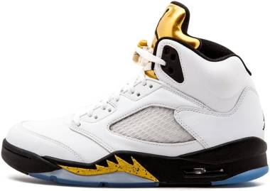 newest c4166 00578 Air Jordan 5 Retro White Men
