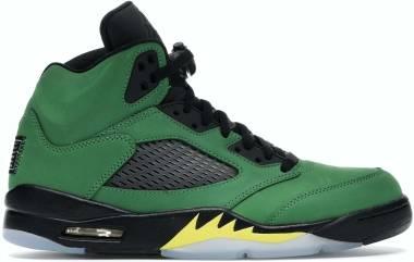 Air Jordan 5 Retro - Apple Green Black Black Yellow Strike (CK6631307)