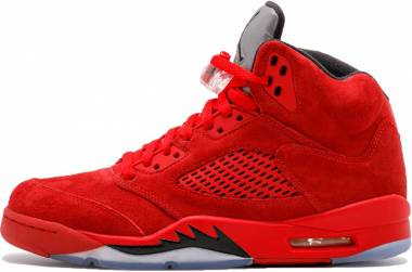 Air Jordan 5 Retro - UNIVERSITY RED/BLACK