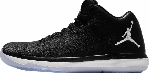 detailed look 679fc 6ec24 Air Jordan XXXI Low Black White