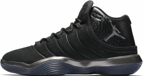 Jordan Super.Fly 2017 - Black Black Chrome Anthracite