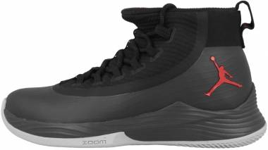 Jordan Ultra.Fly 2 - Black/Anthracite Red