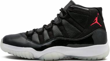 Air Jordan 11 Retro Black, Gym Red-white-anthracite Men