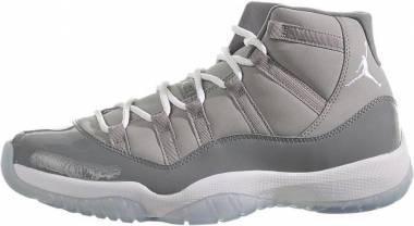 Air Jordan 11 Retro Medium Grey, White-cool Grey Men