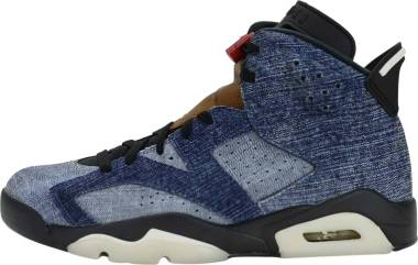 Air Jordan 6 - Washed Denim/Black-sail-varsity Red (CT5350401)