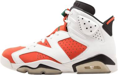 Air Jordan 6 Summit White, Team Orange-black Men