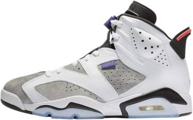 new style 333b0 3f63c Air Jordan 6 White, Dark Concord-black Men