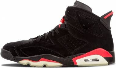 Air Jordan 6 black, infrared 23-black Men
