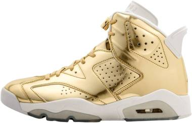 Air Jordan 6 Metallic Gold, White Men