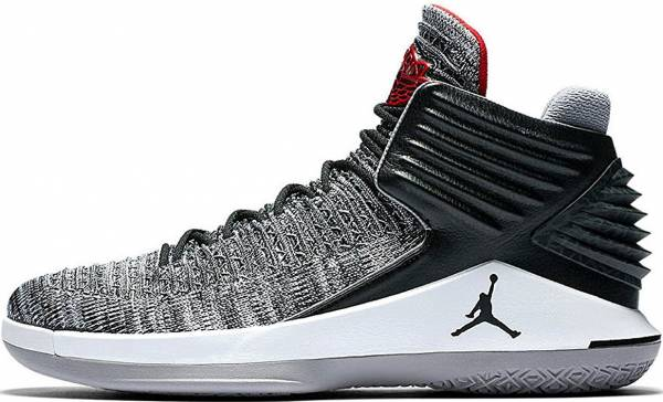 Air Jordan XXXII Black University Red-White-Cement Grey 336b62196f72