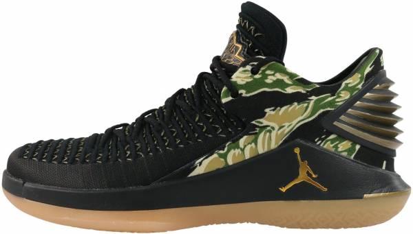 Air Jordan XXXII Low - Black Metallic Gold Gum Yellow (AH3347021)