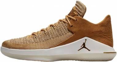 Air Jordan XXXII Low - Golden Harvest, Metallic Gold (AA1256700)