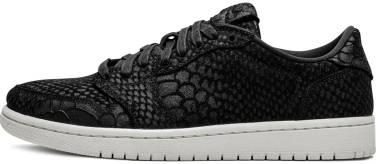 Air Jordan 1 Retro Low - Black (AJ6004010)