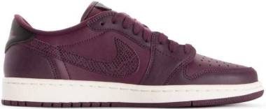 Air Jordan 1 Retro Low - Bordeaux Black Phantom 600