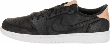 Air Jordan 1 Retro Low Black, Vachetta Tan-white Men