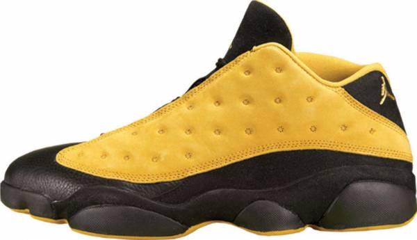 Nike Air Jordan 13 Faible Maïs Noir Jaune