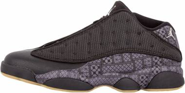 Air Jordan 13 Retro Low - black, chrome-dark grey-white (810551050)