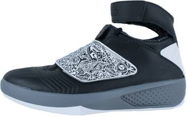 Air Jordan 20 - Negro Blanco Gris Black White Cool Grey
