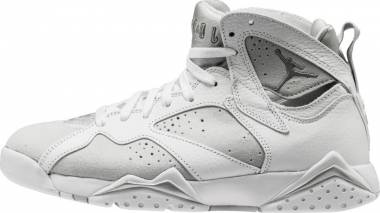 Air Jordan 7 Retro White, Metallic Silver Men