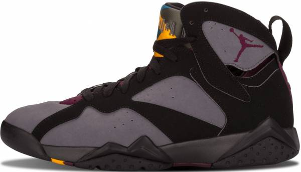 new product 8accc d102f Air Jordan 7 Retro Black, Brdx-lt Grpht-mdnght Fg