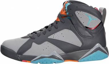 best sneakers db38e 7b58a Air Jordan 7 Retro Drk Gry, Trqs Bl-wlf Gry-ttl Or Men