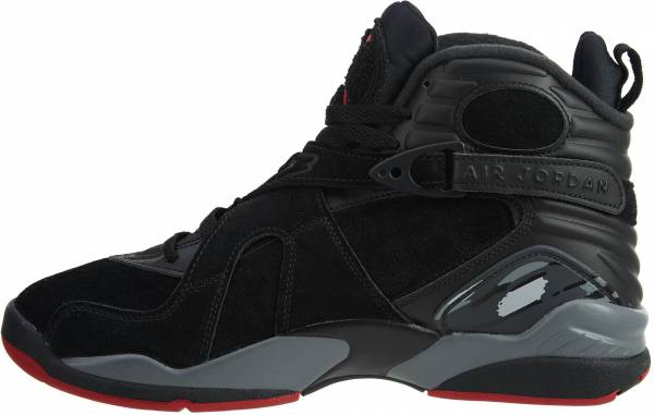 the latest b92da 1821c Air Jordan 8 Retro black, gym red-black-wolf grey